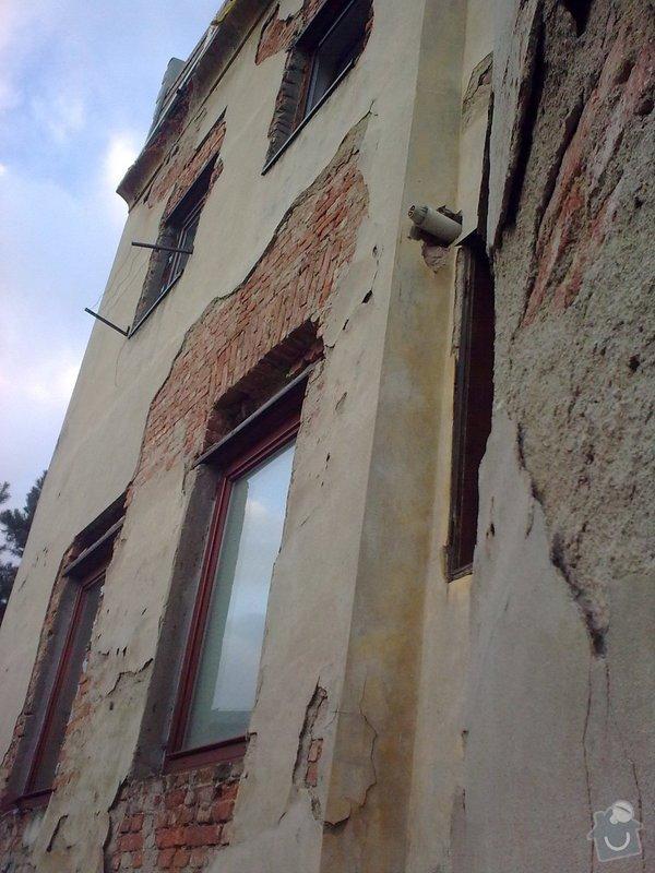 Oprava fasády bytového domu : Obraz0236