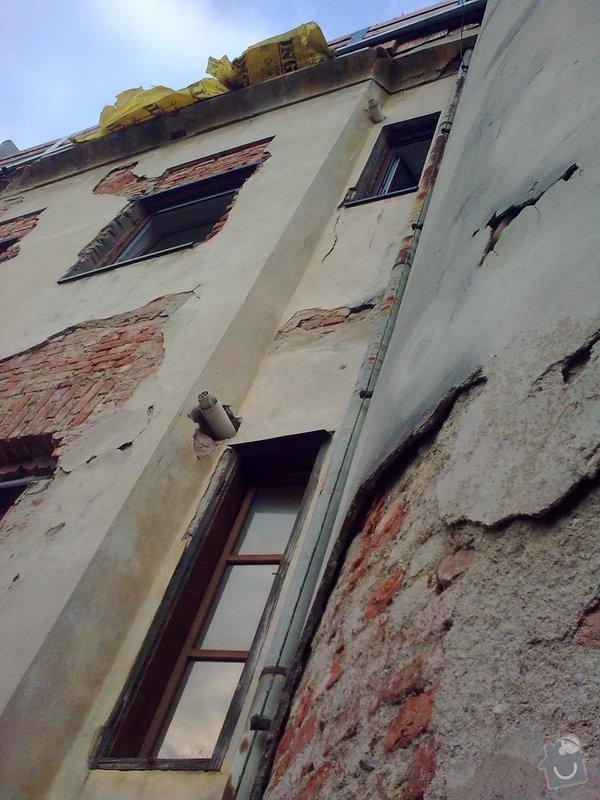 Oprava fasády bytového domu : Obraz0238