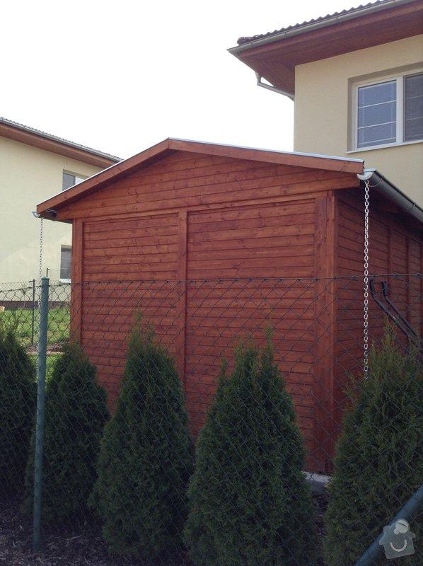 Šindelová střecha na zahradní domek: IMG_0160