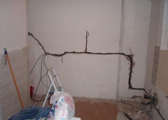 Rekonstrukce elektroinstalace kuchyně