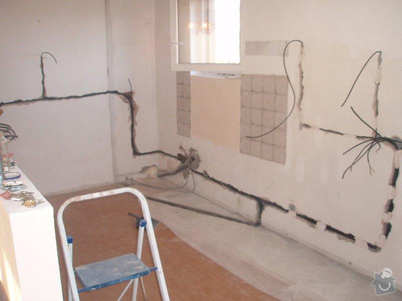 Rekonstrukce elektroinstalace kuchyně: P1180019