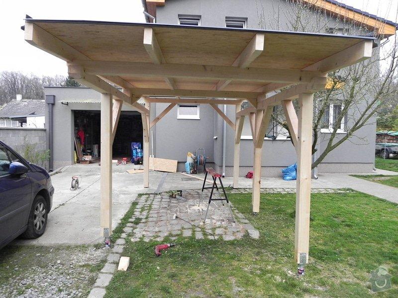 Dřevěný přístřešek na auto : 002