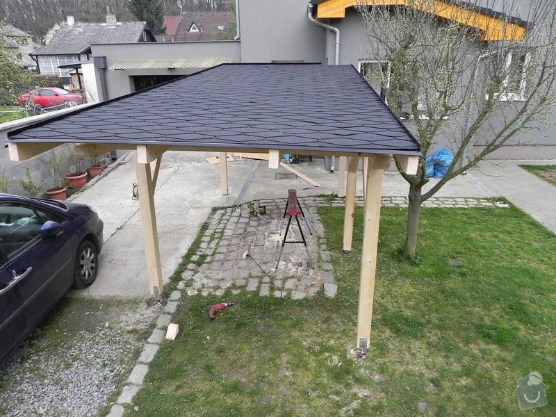 Dřevěný přístřešek na auto : 003