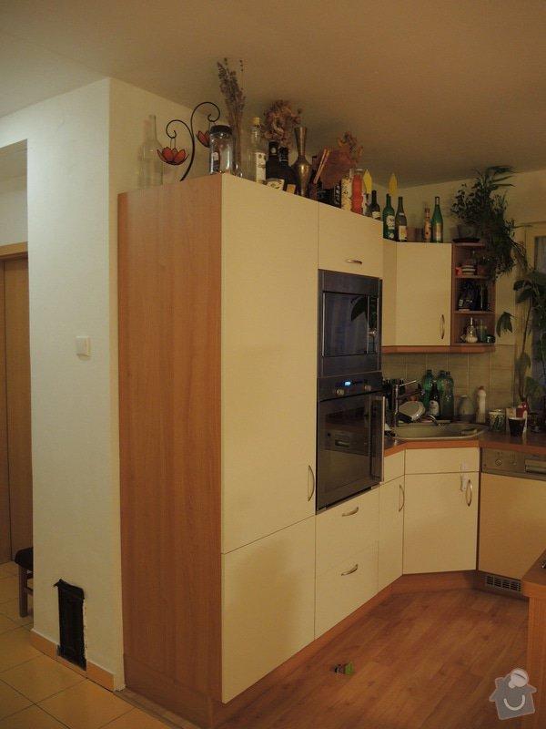 Zhotoveni skrinek a dveri ve stejne barve: DSCN6517