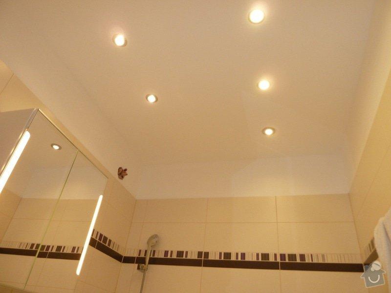 Instalace osvetleni v koupelne a WC: kupelna