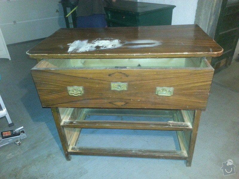 Renovace dřevěného nábytku: komoda_2