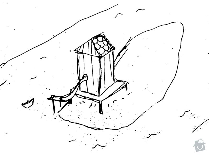 Výroba dřevěné boudy: bouda