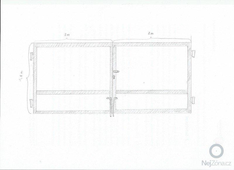 Výroba vjezdové brány a branky - pouze kovová konstrukce s panty: vjezdova_brana