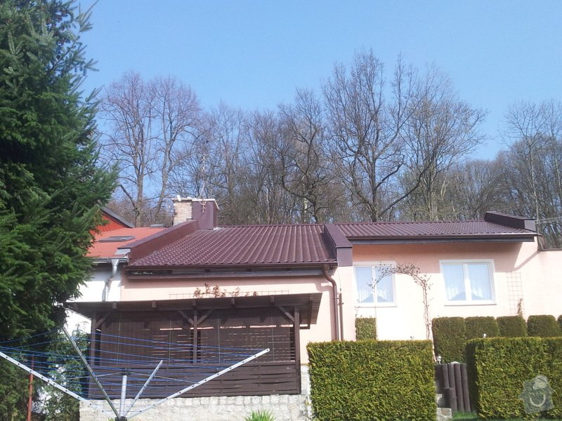 Rekonstrukce střechy RD: 20140402_105626