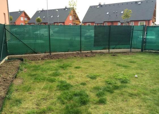 Vykopání záhonů pro živý plot - 15m