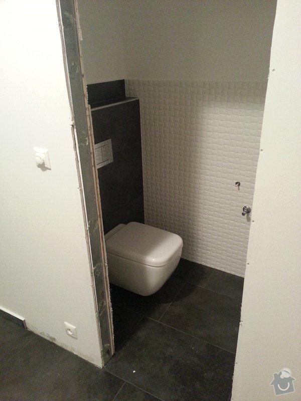 Realizace koupelny,polozeni dlazby v chodbe a kuchyni: 20130504_235528