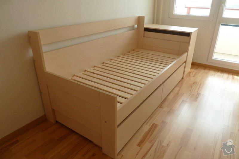 Rozkládací postel a knihovna: P1180268
