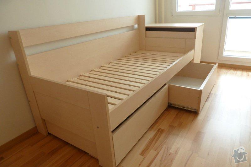 Rozkládací postel a knihovna: P1180263
