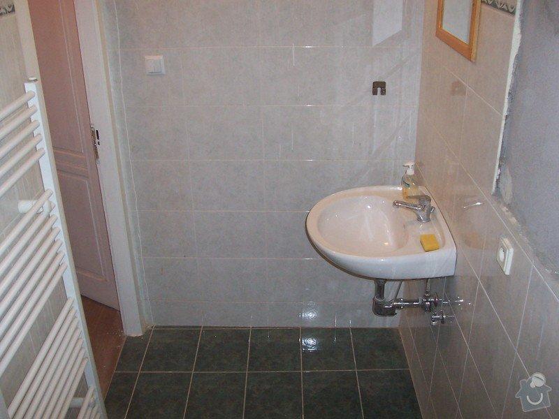 Rekonstrukce koupelny a WC: 100_5394