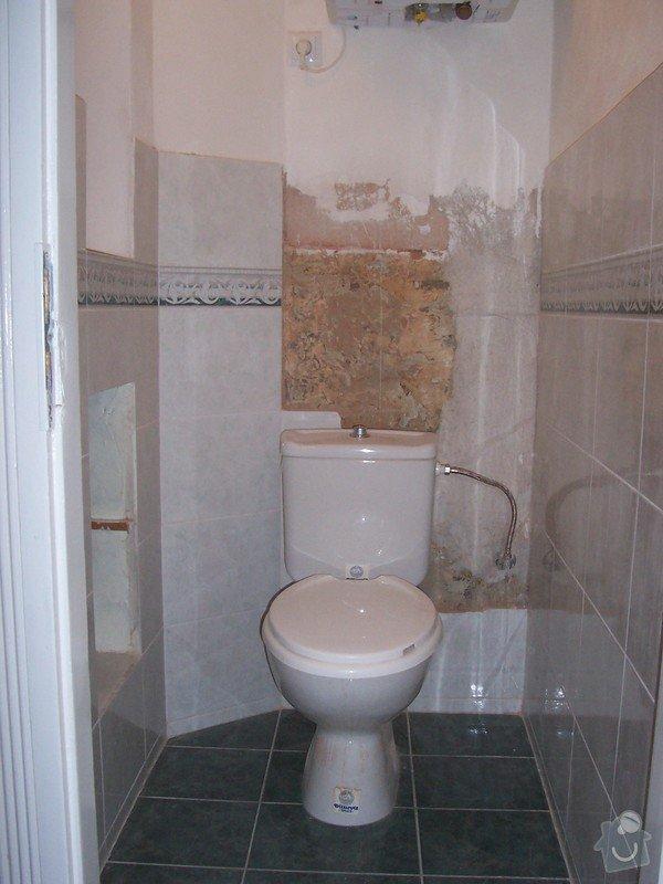 Rekonstrukce koupelny a WC: 100_5386