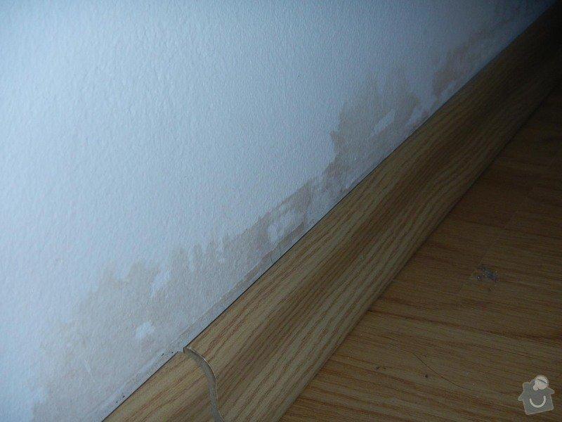 Malířské práce (1 pokoj po vytopení vodou): DSCN8311