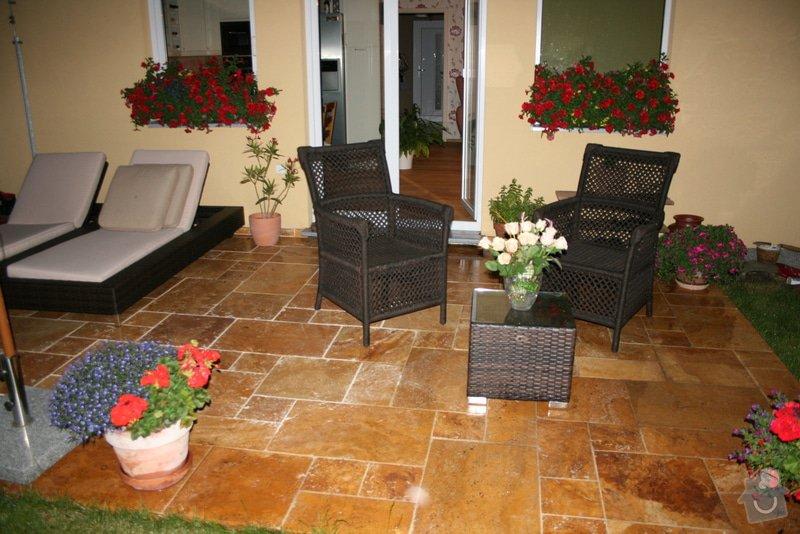 Realizace terasy-kamen zlaty travertin: Baracek_Schlossberg_hotel-Nemecko_cerven_2012_111