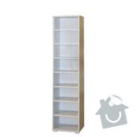 Montáž nábytku: knihovna_2