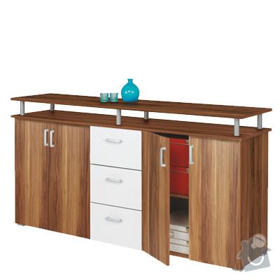 Montáž nábytku: komoda