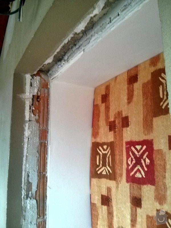 Zabradlie z dreva + 1ks dvere - interier: C360_2014-04-16-10-31-21-187