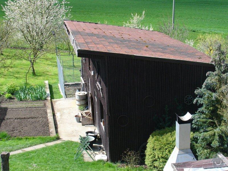 Oprava střechy na hospodařské budově u RD: DSC05281