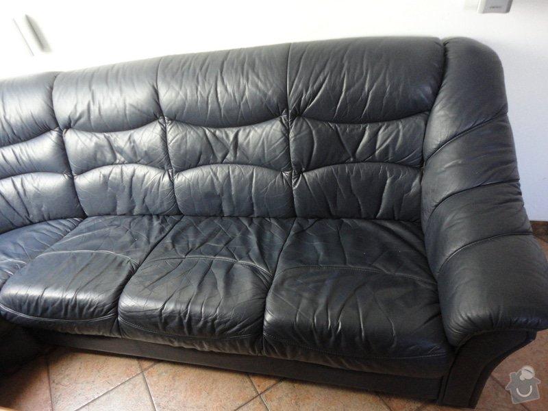 Oprava poškozené kožené sedačky: DSC03731