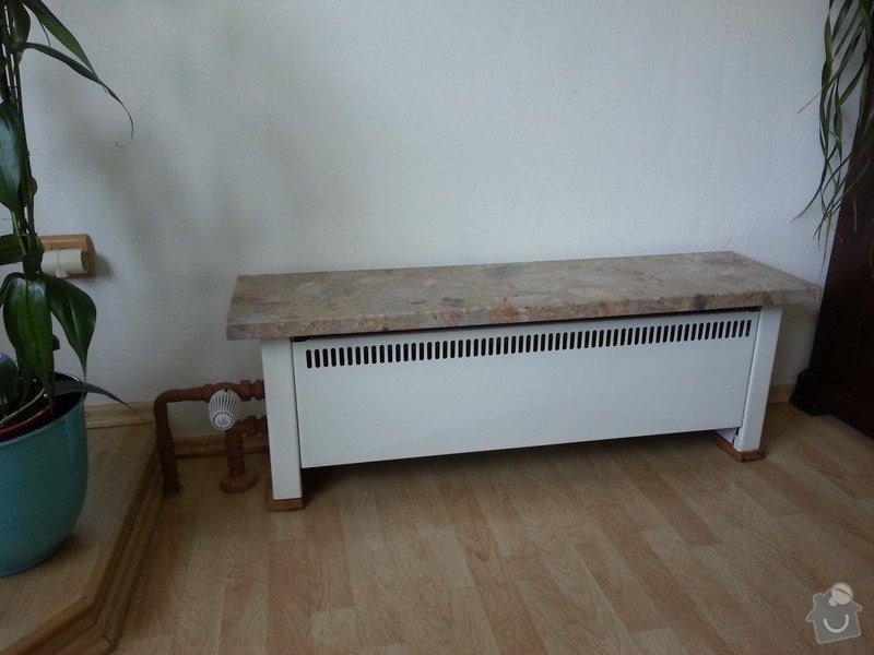 Vymena dvou radiatoru a zruseni jednech radiatoru: 20140417_104456