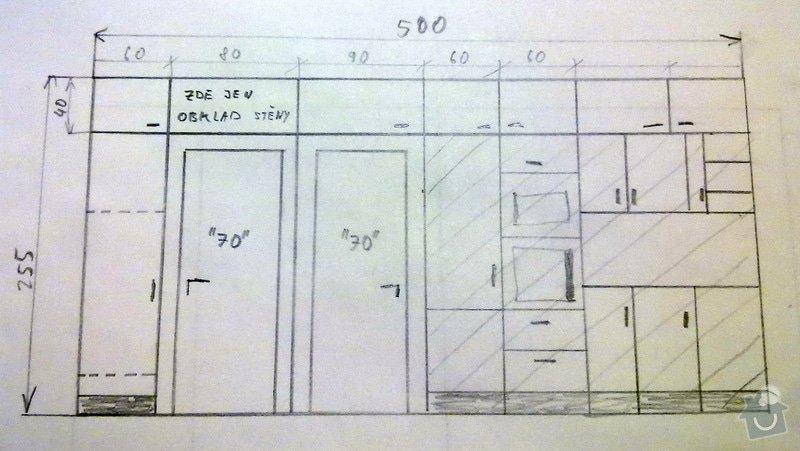 Zhotoveni skrinek a dveri ve stejne barve: DSCN6514