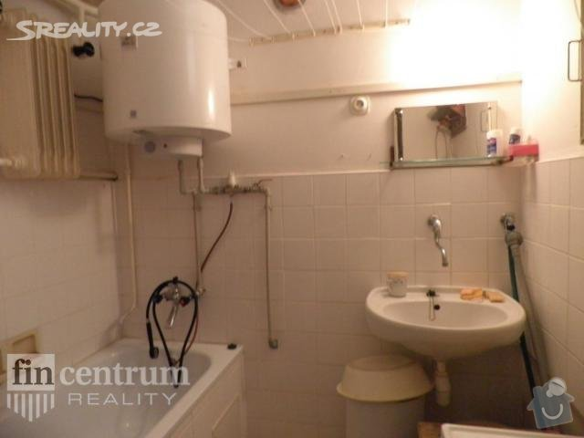 Rekonstrukce bytu: koupelna