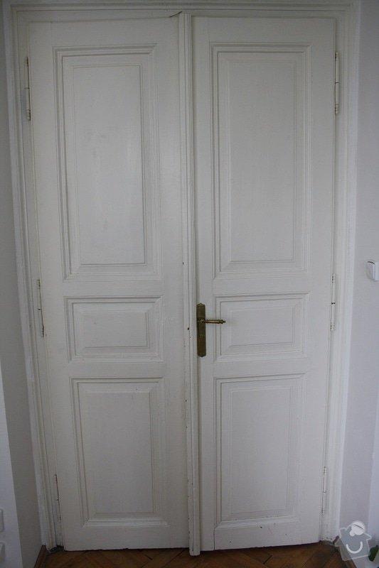 Repase dřevěných dveří: Dvere_01
