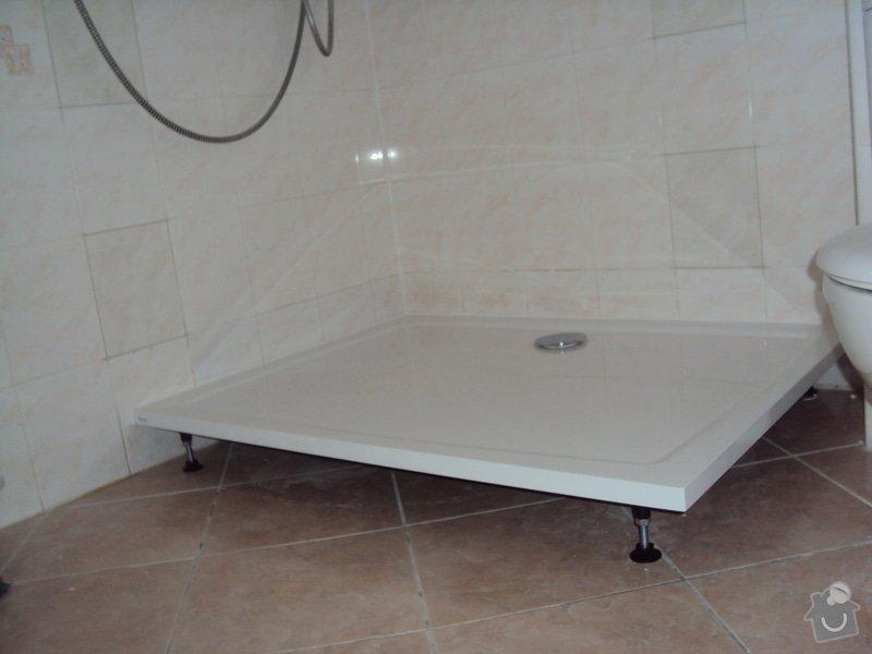 Výměny sprchové koutu: usazeni_vanicky