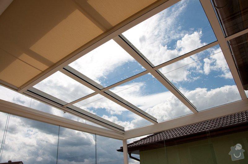 Prosklená terasa Weinor Glasoase s markýzou pod střechou: ref_9_18