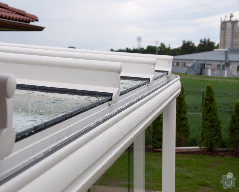 Prosklená terasa Weinor Glasoase s markýzou pod střechou: ref_9_15