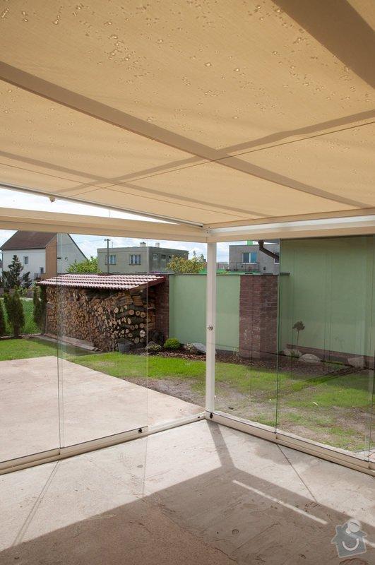 Prosklená terasa Weinor Glasoase s markýzou pod střechou: ref_9_24