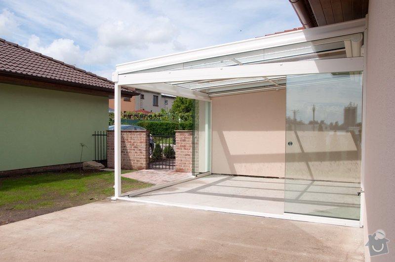 Prosklená terasa Weinor Glasoase s markýzou pod střechou: ref_9_23
