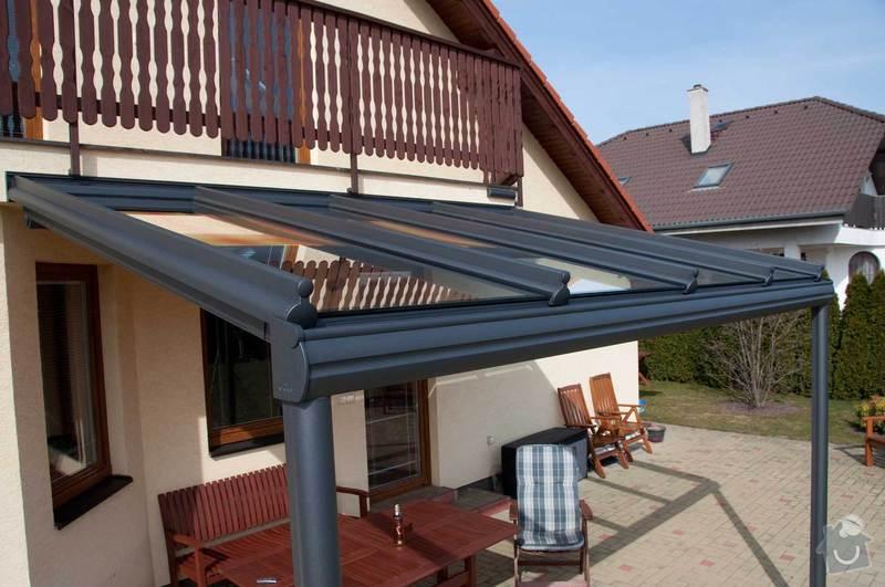 Zastřešení terasy s prosklenou střechou a markýzou: ref_8_17