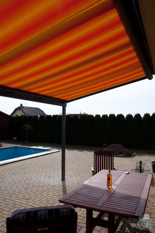 Zastřešení terasy s prosklenou střechou a markýzou: ref_8_18