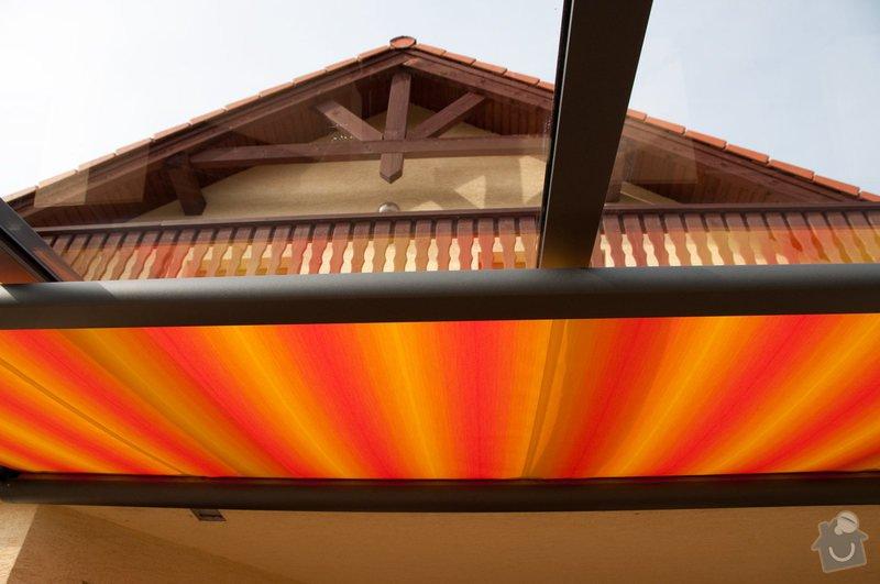 Zastřešení terasy s prosklenou střechou a markýzou: ref_8_19