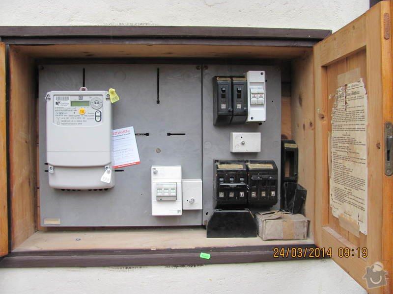 Připojení elektřiny - revizi rozvaděče: IMG_3887