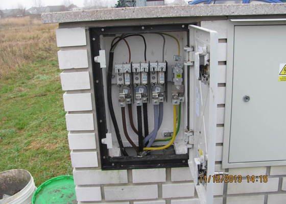 Revize elektro novostavby