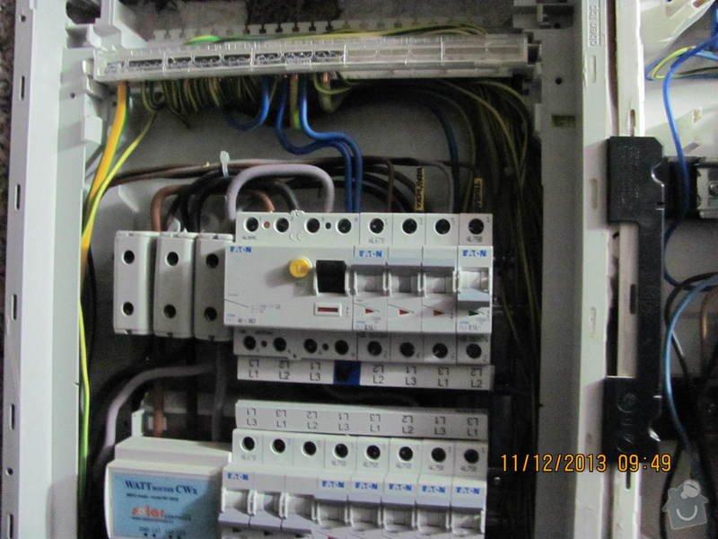 Revize elektro novostavby: HBR1_4_
