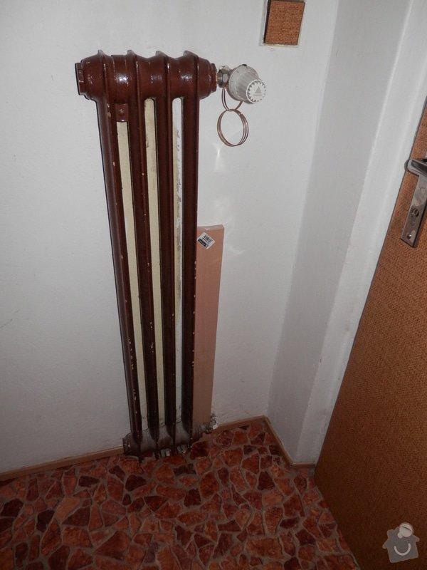 Výměna radiátorů 5ks: P2230067