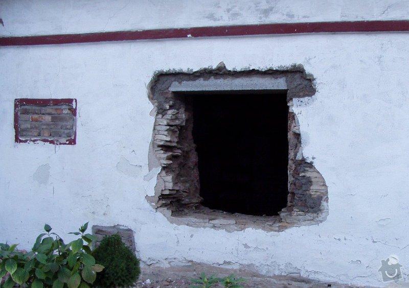 Rekonstrukce místnosti staré chalupy: ch3