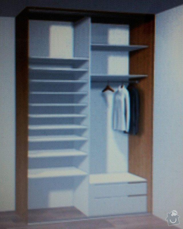 Vestavěnou skříň: skrin