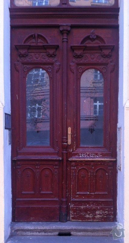Renovace vstupnich dveri + renovace dveri + nove dvere: IMG_0678