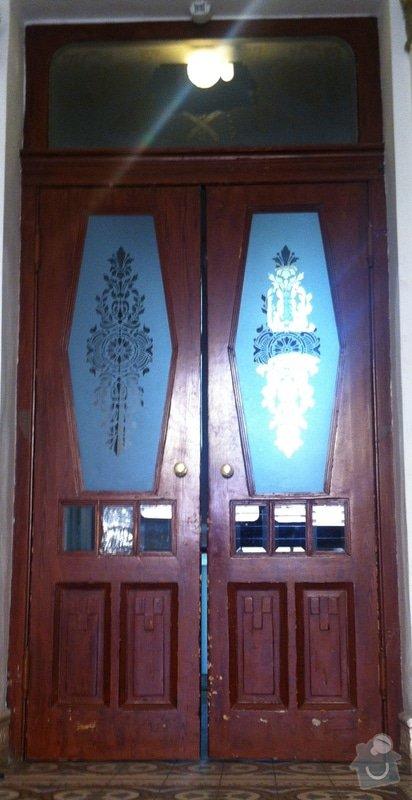Renovace vstupnich dveri + renovace dveri + nove dvere: IMG_0674