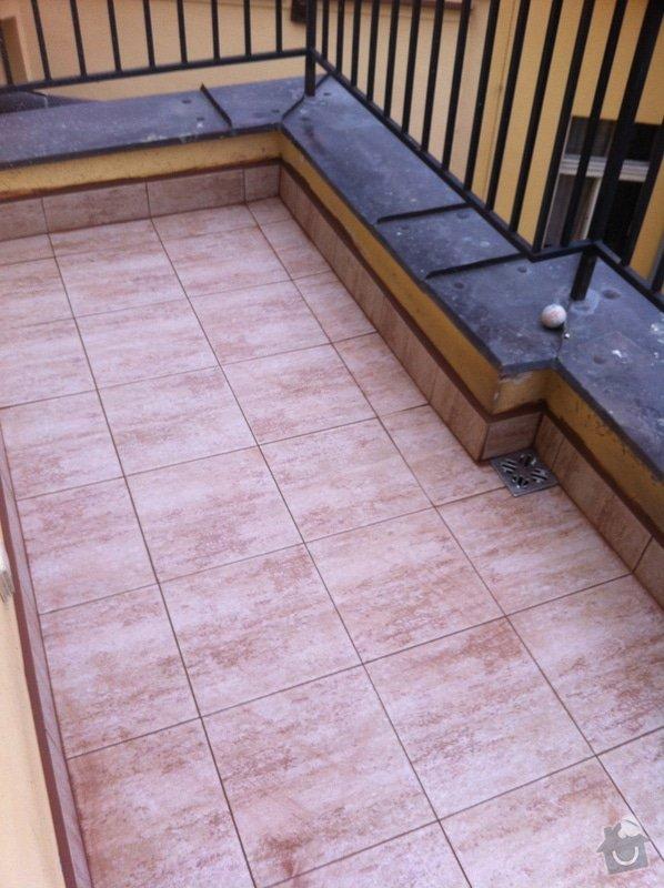 Řešení podlahové krytiny a izolace na dvou terasách: IMG_0755