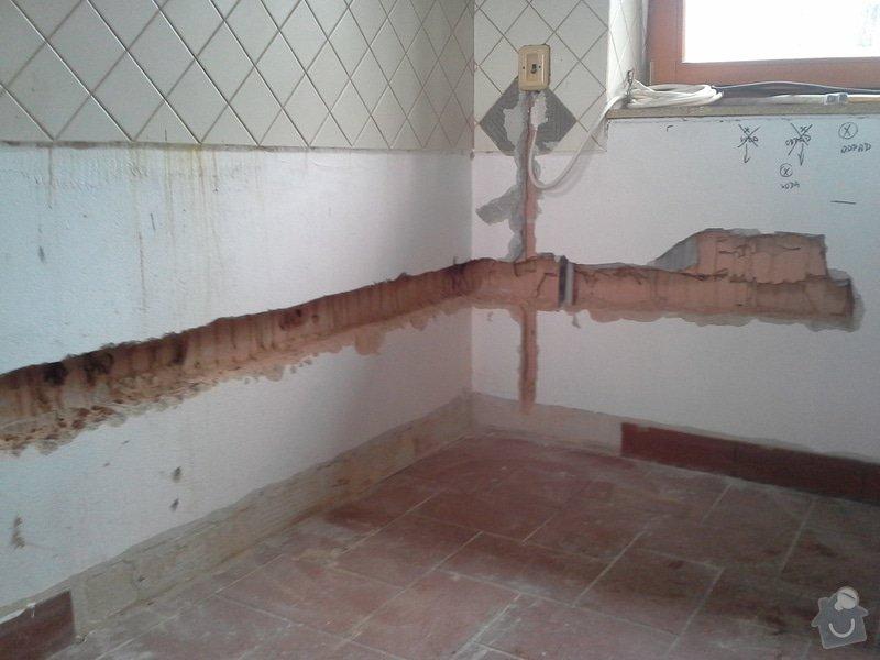 Přesunutí vody a odpadu v kuchyni: 20140416_094947
