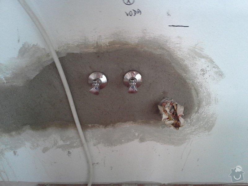 Přesunutí vody a odpadu v kuchyni: 20140418_100427