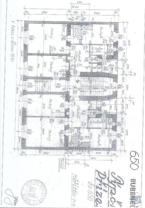 Vymalba schodby BD + zatepleni 10m2: prizemi